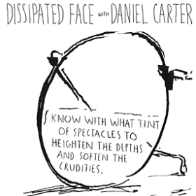 DISSIPATED FACE WITH DANIEL CARTER: LIVE AT CBGB 1986