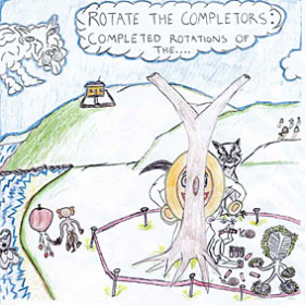 ROTATE THE COMPLETOR: ROTATE THE COMPLETORS: COMPLETED ROTATIONS OF THE…